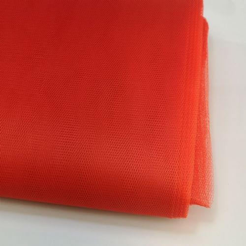 Red  Honeycomb  Fabric 54""
